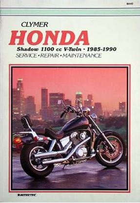 Picture of HONDA SHADOW 1100 V-TWINS 1985-90 - M440 - CLYMER REPAIR MANUALS
