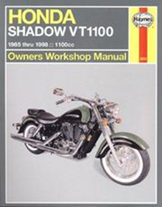 Picture of HONDA SHADOW VT1100 1985-98 N. 2313 - OWNERS WORKSHOP MANUALS