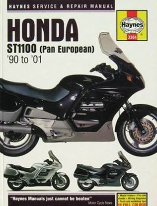 Picture of HONDA ST1100 PAN EUROPEAN 1990-2001 N. 3384 - OWNERS WORKSHOP MANUALS