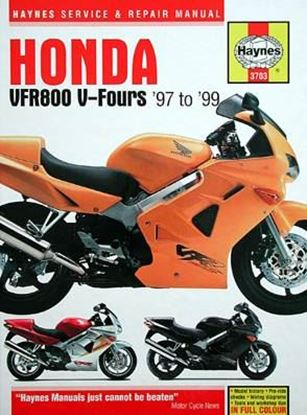 Picture of HONDA V-FOURS '97 TO '99 N. 3703 OWNERS WORKSHOP MANUALS