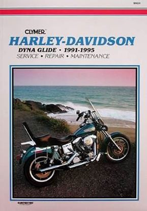 Picture of HARLEY-DAVIDSON DYNA GLIDE 1991-95 - M424 - CLYMER REPAIR MANUALS