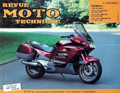 "Picture of HONDA ""PAN EUROPEAN"" ST 1100 1990-95 - SERIE ""REVUE MOTO TECHNIQUE"" N° HORS SERIE 9"