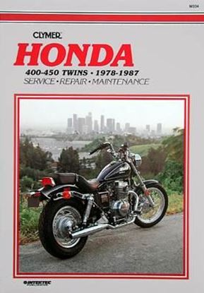 Immagine di HONDA CB-CM 400-450 TWINS 1978-87 - M334 - CLYMER REPAIR MANUALS