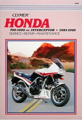 Picture of HONDA 700-1000 INTERCEPTOR 1983-85 - M349 - CLYMER REPAIR MANUALS