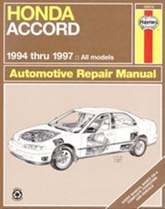 Picture of HONDA ACCORD 1994-97 ALL MODELS N. 42013 OWNERS WORKSHOP MANUALS