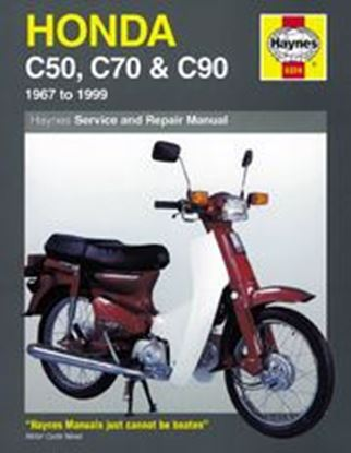 Picture of HONDA C50, C70 & C90 1967-99 N. 0324 - OWNERS WORKSHOP MANUALS