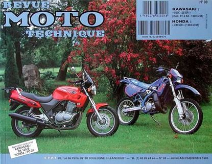 "Picture of HONDA CB 500 (94/95) N° 98 - SERIE ""REVUE MOTO TECHNIQUE"""
