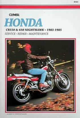 Picture of HONDA CB 550 & 650 NIGHTHAWK 1983-85 - M345 - CLYMER REPAIR MANUALS