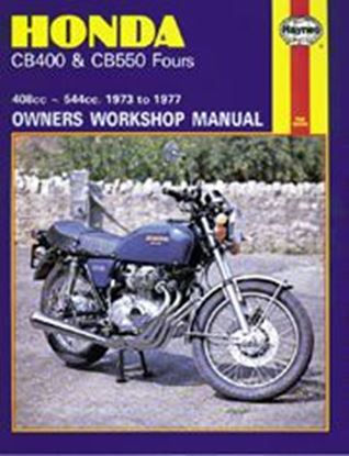 Immagine di HONDA CB400 & CB550 FOURS 1973-77 N. 0262 - OWNERS WORKSHOP MANUALS