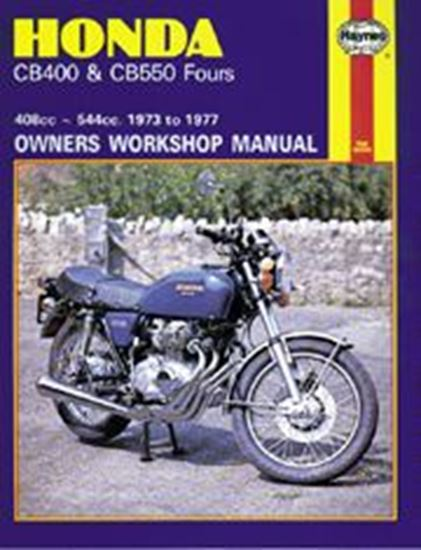 Picture of HONDA CB400 & CB550 FOURS 1973-77 N. 0262 - OWNERS WORKSHOP MANUALS