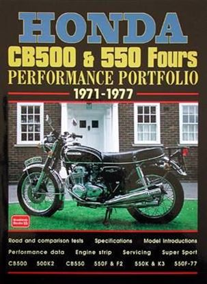 Immagine di HONDA CB500 & 550 FOURS PERFORMANCE PORTFOLIO 1971/77