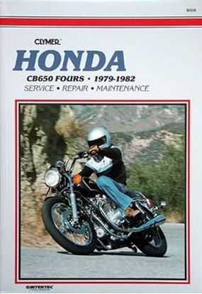 Immagine di HONDA CB650 FOURS 1979-82 - M336 - CLYMER REPAIR MANUALS