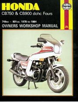 Picture of HONDA CB750 & CB900 DOCH FOURS 1978-84 N. 0535 - OWNERS WORKSHOP MANUALS