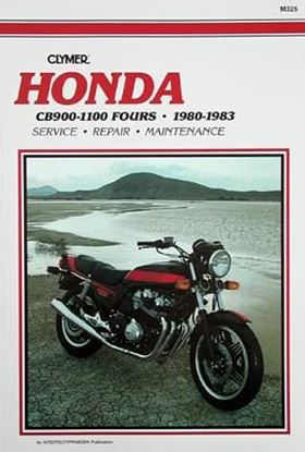 Immagine di HONDA CB900-1000-1100 FOURS 1980-83 - M325 - CLYMER REPAIR MANUALS