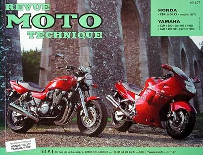 "Picture of HONDA CBR 1100 XX (97) N° 107 - SERIE ""REVUE MOTO TECHNIQUE"""
