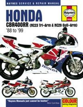 Immagine di HONDA CBR400RR 1988-99 N. 3552 - OWNERS WORKSHOP MANUALS