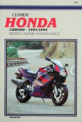Immagine di HONDA CBR600 FM-R 1991-94 - M441 - CLYMER REPAIR MANUALS