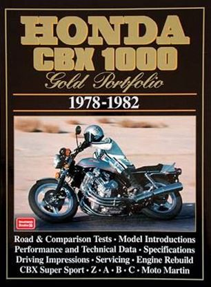 Picture of HONDA CBX 1000 1978/1982 GOLD PORTFOLIO