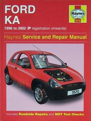 Picture of FORD KA 1996-2002 (P REGISTRATION ONWARDS) N. 3570 OWNERS WORKSHOP MANUALS