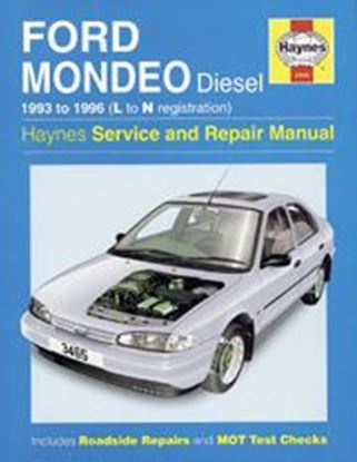 Picture of FORD MONDEO DIESEL, 1993-96 N. 3465 OWNERS WORKSHOP MANUALS