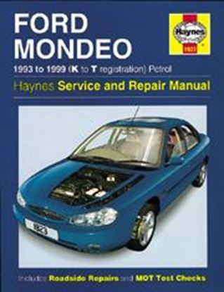 Picture of FORD MONDEO, 1993-96 N. 1923 OWNERS WORKSHOP MANUALS