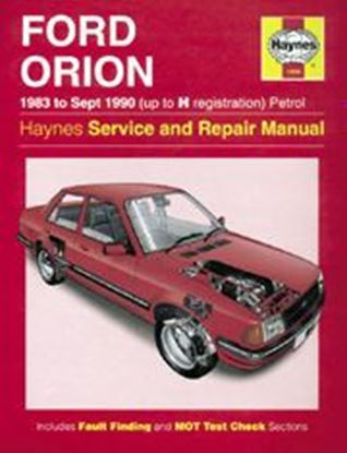 Picture of FORD ORION, 1983-90 N. 1009 OWNERS WORKSHOP MANUALS