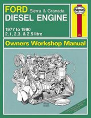 Picture of FORD SIERRA & GRANADA DIESEL ENGINE, 1977-90 N. 1606 OWNERS WORKSHOP MANUALS