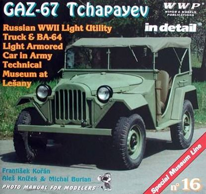 Picture of GAZ-67 TCHAPAYEN IN DETAIL – SPECIAL MUSEUM LINE N° 16