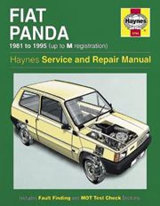 Immagine di FIAT PANDA, 1981-95 CLASSIC REPRINT OWNERS WORKSHOP MANUAL N.0793