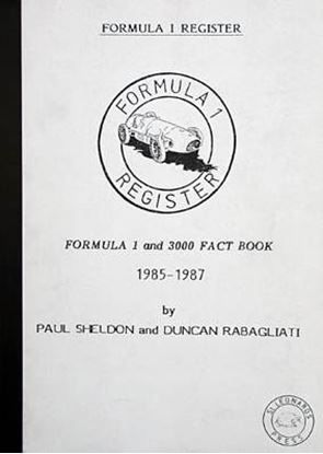 Immagine di FORMULA 1 & 3000 FACT BOOK 1985/87