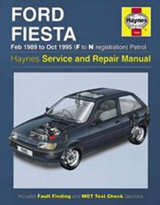 Picture of FORD FIESTA, 1989-95 N. 1595 OWNERS WORKSHOP MANUALS