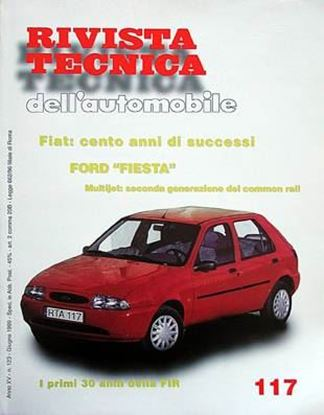 Picture of FORD FIESTA DIESEL DAL 1996 N. 117 SERIE «RIVISTA TECNICA DELL'AUTOMOBILE»