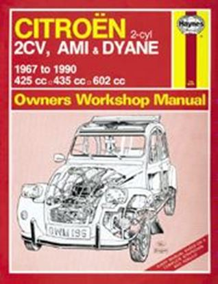 Immagine di CITROEN 2CV/AMI & DYANE, 1967-90 N. 0196 OWNERS WORKSHOP MANUALS