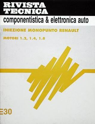 Picture of Iniezione Elettronica N. 30: RENAULT 1.2-1.4-1.8