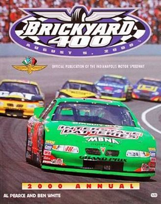 Immagine di BRICKYARD 400 2000 ANNUAL OFFICIAL PUBLICATION OF THE INDIANAPOLIS MOTOR SPEEDWAY