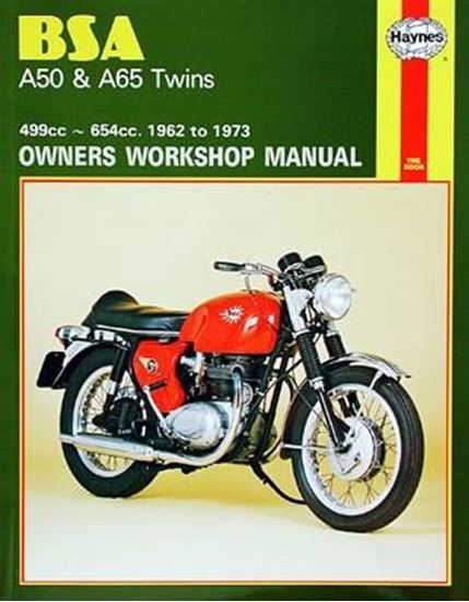 Picture of BSA A50 & A65 TWINS 1962-73 N. 0155 - OWNERS WORKSHOP MANUALS