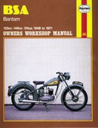 Picture of BSA BANTAM 1948-71 N. 0117 - OWNERS WORKSHOP MANUALS