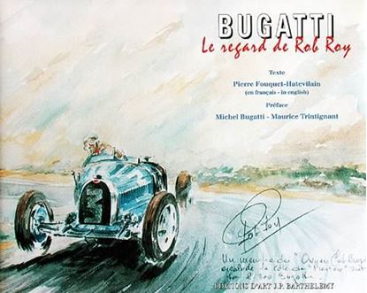 Picture of BUGATTI: LE REGARD DE ROB ROY