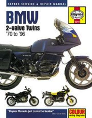 Picture of BMW 2 VALVE TWINS 1970-96 N. 0249 - OWNERS WORKSHOP MANUALS