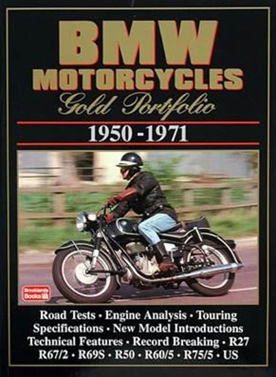 Picture of BMW MOTORCYCLES GOLD PORTFOLIO 1950/1971