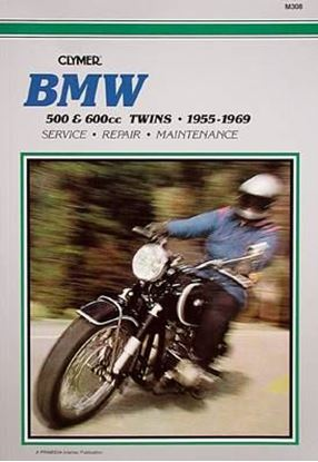 Immagine di BMW 500-600 TWINS 1955-69 - M308 - CLYMER REPAIR MANUALS