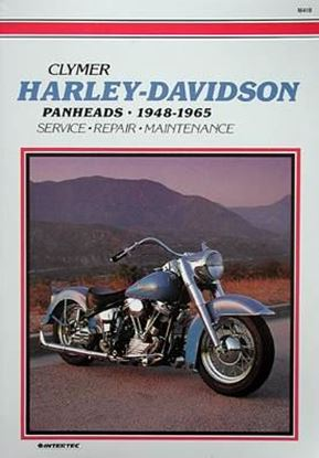 Picture of HARLEY-DAVIDSON PANHEADS 1948-65 - M418 - CLYMER REPAIR MANUALS