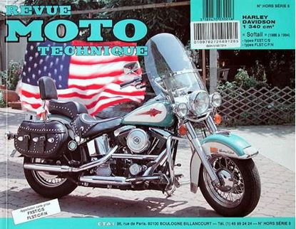 "Picture of HARLEY-DAVIDSON SOFTAIL TOUS TYPES (1986/94) - SERIE ""REVUE MOTO TECHNIQUE"" N° HORS SERIE 8"