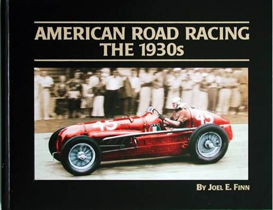 Picture of AMERICAN ROAD RACING: THE 1930S