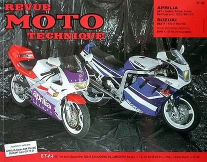 "Picture of APRILIA 125 AF1 (1989/91) N° 80 - SERIE ""REVUE MOTO TECHNIQUE """
