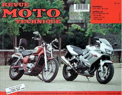 "Picture of APRILIA RS125 1998 N° 111 - SERIE ""REVUE MOTO TECHNIQUE"""