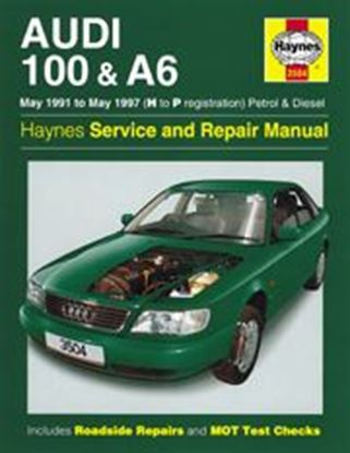 Picture of AUDI 100 A6, 1991-97 N. 3504 OWNERS WORKSHOP MANUALS