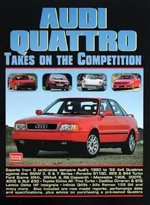Immagine di AUDI QUATTRO TAKES ON THE COMPETITION