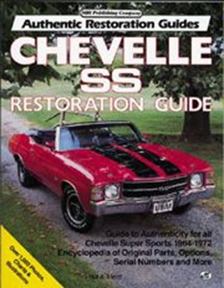 Picture of CHEVELLE SS RESTORATION GUIDE