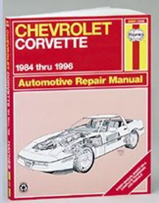 Immagine di CHEVROLET CORVETTE, 1984-96 N. 1336 (24041) OWNERS WORKSHOP MANUALS
